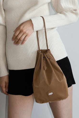 Brilly Bucket Bag_Camel