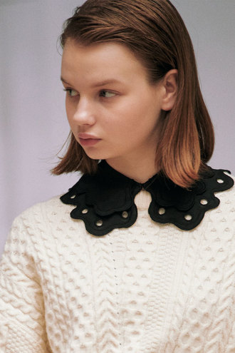 Ann Detachable Collar_Black