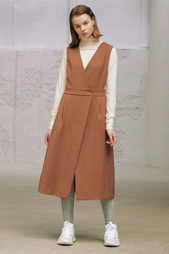Ines Dress_Brown