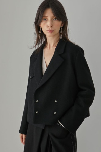 Ophelie Short Jacket_Black